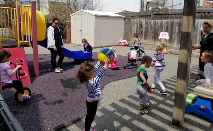 Kindergarten Group at Roots Daycare