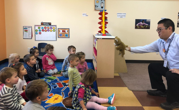 Preschool Group at Roots Daycare